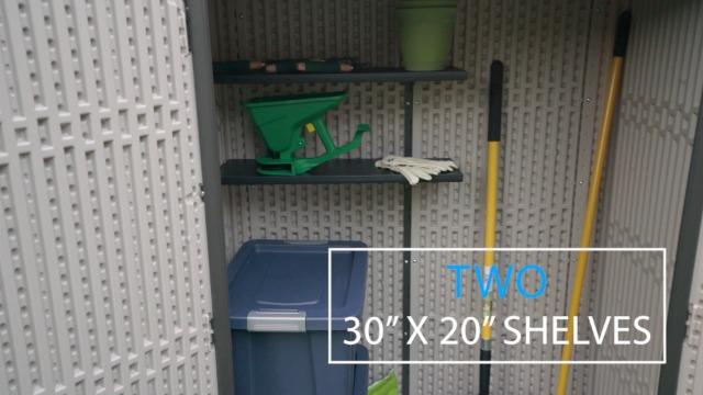 Garden and Outdoor Lifetime 60326 Vertical Storage Shed, Pack of 1, Desert Sand outdoor storage sheds