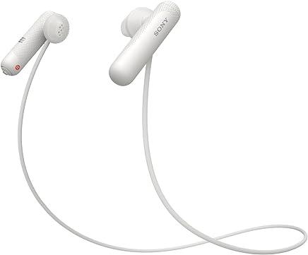 ソニー SONY ワイヤレスイヤホン WI-SP500 WQ : Bluetooth対応 NFC接続対応 防滴仕様 2018年モデル ホワイト