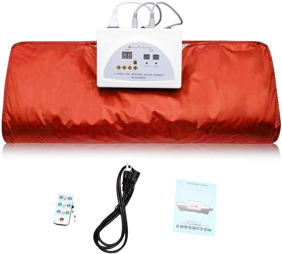 ETE cheap Finally resale start ETMATE FIR Sauna Blanket 2 Zone Controller Sau Heat Digital