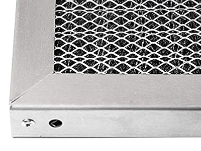 LifeSupplyUSA Replacement Heavy Duty Aluminum Electrostatic Washable Air Purifier A/C Filters for Central HVAC Conditioner Furnace Systems