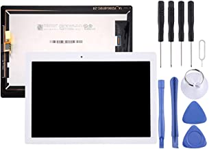 LCD Touch Screen Repair Spare Parts LCD Screen and Digitizer Full Assembly for Lenovo Tab 2 A10-30 / TB2-X30F(Black) Mobile Phone Spare Parts (Color : White)