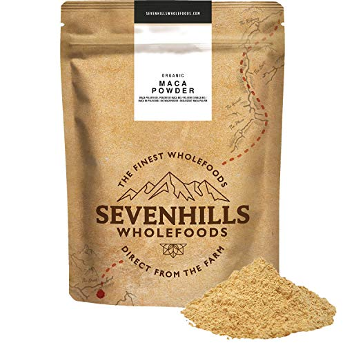 Sevenhills Wholefoods Polvere Di Maca Crudo Bio 500g