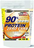 Hyper 90% Protein Zero Carb 4 Fonti Proteine Dellattosate, Cacao - 750 gr