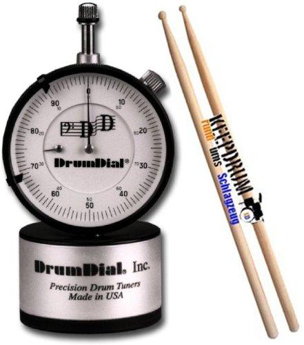 Drum Dial Drum Dial Tuner/Afinador Keepdrum 5A baquetas nogal 1par gratis.