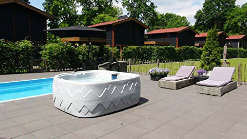 Fonteyn Dream 8 Outdoor Whirlpool Spa/Balboa Steuerung / 5 Personen/Dreammaker/Aussenwhirlpool/Indoor