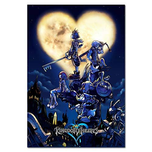 Printing Pira Kingdom Hearts Poster - PS2 Exclusive - Box Art (11x17)