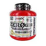 AMIX - Zeropro Protein - Proteína Isolada - Gran Aporte de Aminoácidos - Sin Azúcar - Proteína Natural - Proteínas para Aumentar Masa Muscular - Sabor Doble Chocolate Blanco - 2 Kg