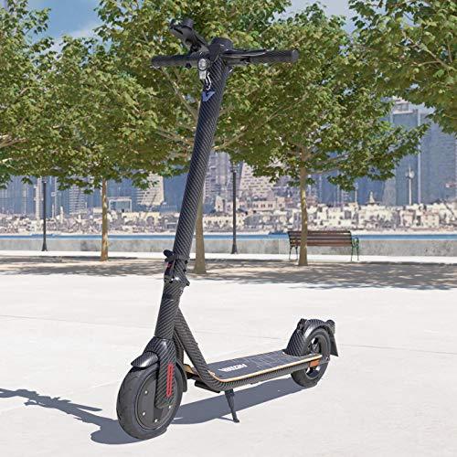 Viron E-Scooter mit Straßenzulassung Elektro Scooter ABE Aluminium Elektroroller Faltbar Roller EScooter eKFV Zulassung Führerscheinfrei (Carbon)