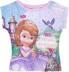 Princesita Sofía Chicas Camiseta Manga Corta 2016 Collection - Púrpura