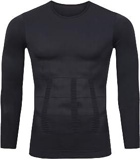 【超加圧版】加圧シャツ メンズ 加圧インナー コンプレッションウェア ダイエット 補正下着 姿勢矯正スポーツインナー トレーニング お腹引き締め 脂肪燃焼