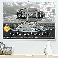 London in Schwarz-Weiss (Premium, hochwertiger DIN A2 Wandkalender 2022, Kunstdruck in Hochglanz): Die Stadt London aus den unterschiedlichsten Perspektiven (Monatskalender, 14 Seiten )