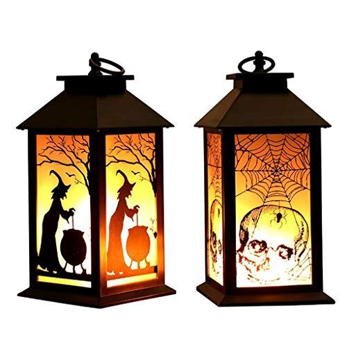 Halloween - dynia świetlna, płomień, ornamenty na biurko, ruchoma, mała lampa olejna, dekoracja na Halloween