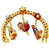 Spielbogen 'Fliegende Tiere'  für den Kinderwagen, -bett oder Buggy, farbenfrohes Mobile für lachende Kinderaugen, fördert den Hör- und Tastsinn und regt zu Bewegung an, ab der Geburt...