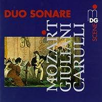 Plays Mozart Guiuliani & Carulli