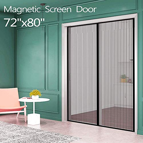 Magnetic Screen Door for French Door by Ikstar