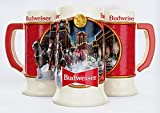 Budweiser 2020 Clydesdale Holiday Stein - Brewery Lights -...