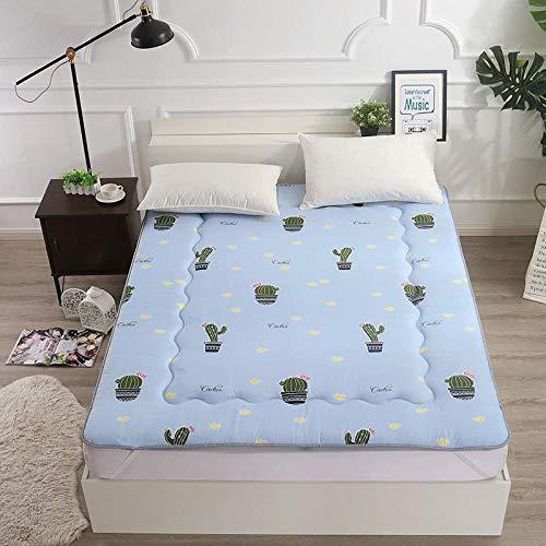 zlzty Faltbare Doppelmatratze, Faltbare Futonmatratze, weiche Schlafunterlage, Dicke japanische Studentenwohnheimmatratze, dickere Matratze @ N_180 * 200ccm