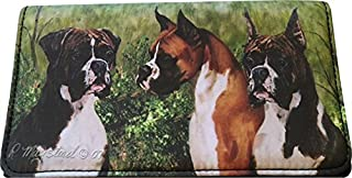Boxer Dog 4 1/4 x 7 1/4 wallet by Ruth Maystead
