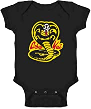 Cobra Kai Costume The Karate Kid Retro Martial Art Infant Baby Boy Girl Bodysuit