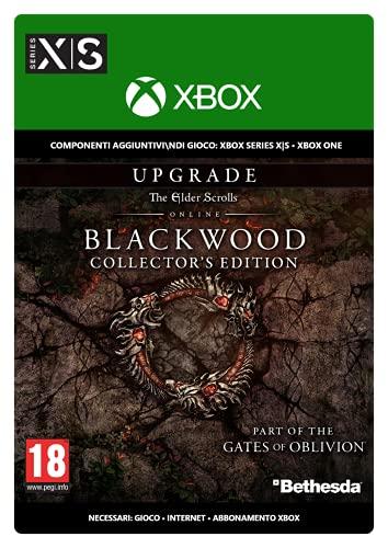 The Elder Scrolls Online Blackwood Upgrade Collector's Edition   Xbox - Download Code