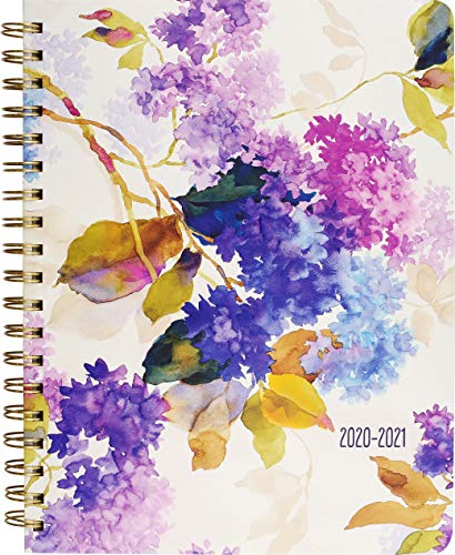 2021 Lilacs Mum's Weekly Planner (18-Month Family Calendar)