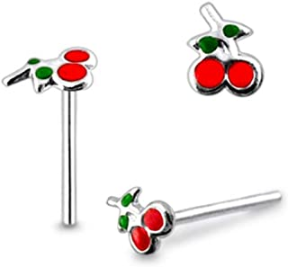 Best cherry nose ring Reviews
