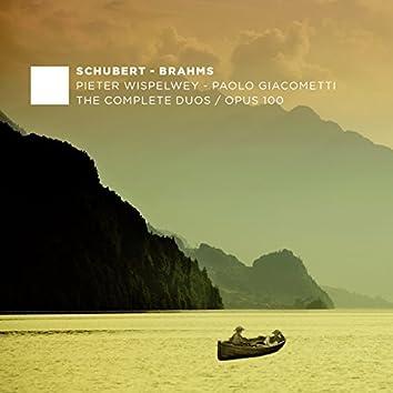F. Schubert, J. Brahms: The Complete Duos - Opus 100