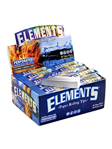Elements Filtertips Tips perforiert (50x50)