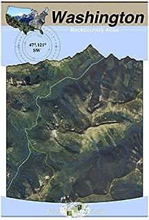 47°121° SW - Snoqualmie Pass, Washington Backcountry Atlas (Aerial)