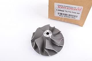 Kinugawa 405-03069-004 Turbo Compressor Wheel for Garrett T3 T4 T04E 58mm / 75mm / 60 Trim / 442476-0017