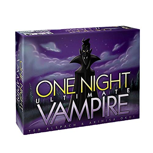 Janny-shop One Night Ultimate Vampires Tarot Card Juego de Mesa Explosión de Cartas Family Friends Party Game (Inglés)
