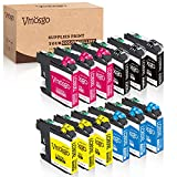 Vmosgo Compatible Ink Cartridges Replacement for Brother LC203 LC203XL, Used with Brother MFC-J480DW J680DW J485DW J460DW J880DW J4420DW J4620DW J5520DW J5720DW J4320DW J885DW J5620DW