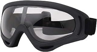 Homyl Óculos de Ciclismo para Uso ao Ar Livre, Óculos de Esqui para Motociclismo, Óculos de Esqui - Transparentes, conform...