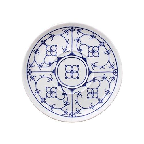 Eschenbach Porzellan Group Tallin Indischblau Untertasse 14,5 cm, Porzellan, 1 x 1 x 1 cm