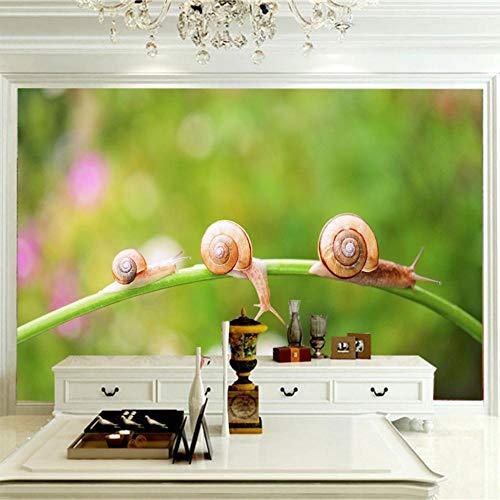 Posters Para Pared Caracol Animal 150x100cm/59x39.5in(Wxh) Papel Tapiz Fotográfico Murales Grandes Sofá Dormitorio Moderno Pintura Mural Decoración Para El Hogar
