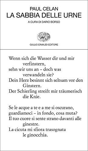 La sabbia delle urne (Collezione di poesia Vol. 437)