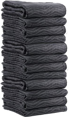 US Manufacturer regenerated product Cargo Control Supreme Mover Moving Blankets - Long High material 80 Inches