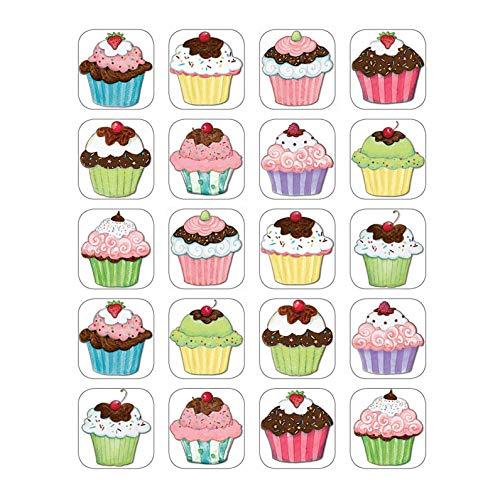 Teacher Created Resources SW Cupcakes Stickers, Multi Color (4732)
