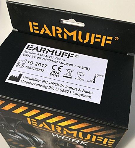 2017 DS-Alert EARMUFF dynamischer 31dB Gehörschutz mit BLUETOOTH und Surround Umgebungswahrnehmung - 8