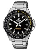 CASIO Mens Analogue Classic Quartz Watch with Stainless Steel Strap...