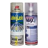 PREMIUM sprayset pour citroen bleu forclaz kHP 2010–2010 de code métallique...