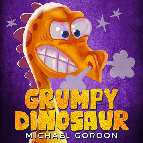 Grumpy Dinosaur  By  cover art