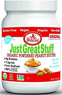 Betty Lou's Organic Powdered Peanut Butter, 1.5 Pound