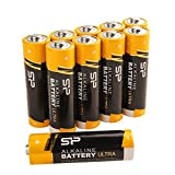 Silicon Power AA 10 Count Value Pack Ultra Alkaline Batteries (SPAL02ABAT10SV1K)