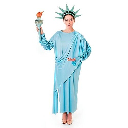 1d28c06d4 Bristol Novelty AC389 Statue of Liberty Costume, Size 10-14