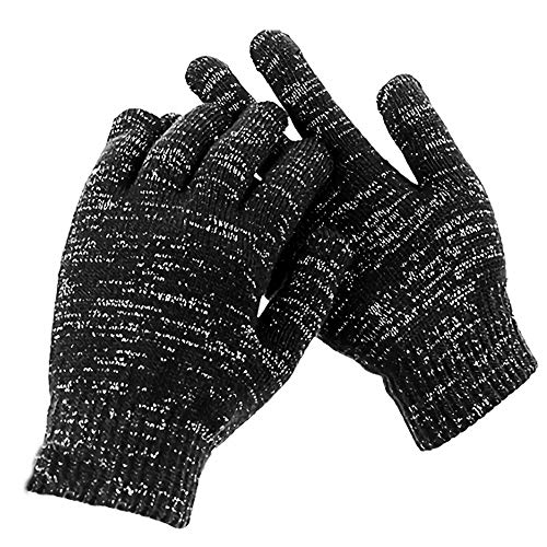 1 Paar antimikrobielle Handschuhe, waschbar, Silberbeschichtung gegen Bakterien/Viren, für den täglichen Gebrauch