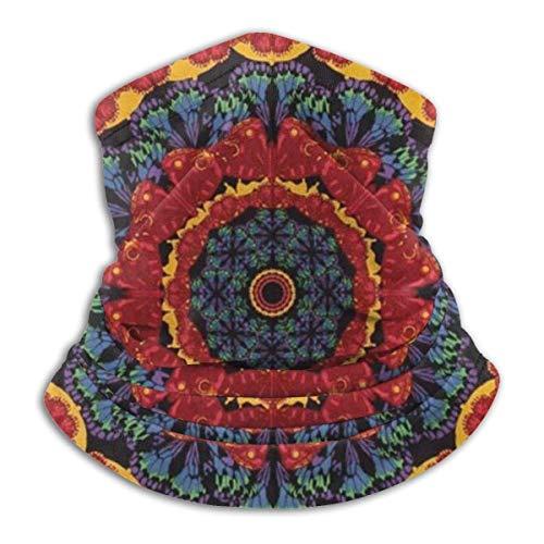 Not Applicable Head Wrap,Sept Chakra Zen Yoga Meditation Bandana 12-en-1, Cagoules Anti-UV pour l'escalade De Course Sportive,26x30cm