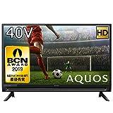 シャープ 液晶テレビ フルハイビジョン 外付けHDD対応 AQUOS 40V型 2T-C40AC2