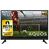 シャープ 40V型 液晶テレビ AQUOS フルハイビジョン 直下型LEDバックライト 外付けHDD対応 2T-C40AC2