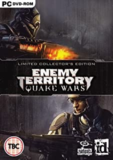 Limited Collector's Edition Enemy Territory Quake Wars (PC-PAL)